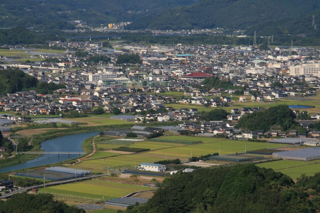 波介山からの高岡町