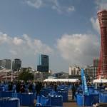 神戸の国際錦鯉品評会